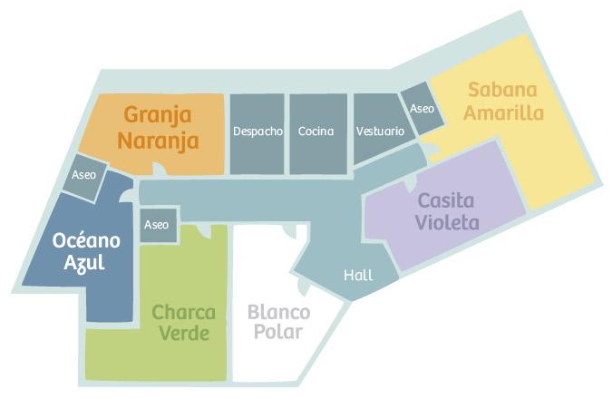 Xicotets centro campolivar for Plano escuela infantil